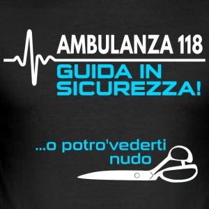 Ambulanza - Herre Slim Fit T-Shirt