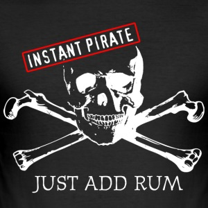 Instant Pirate - Men's Slim Fit T-Shirt