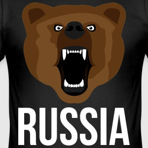 Russia - Men's Slim Fit T-Shirt