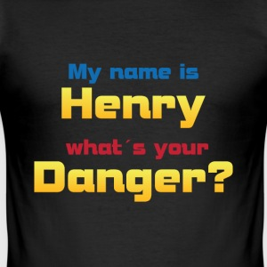 My name is Henry ...? - Men's Slim Fit T-Shirt