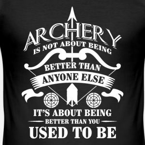 Archery being better than you used to be - arrow