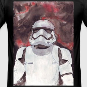 Stormtrooper Galaxy Art - Slim Fit T-skjorte for menn