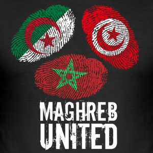 MAGHREB UNITED المغرب - Slim Fit T-shirt herr