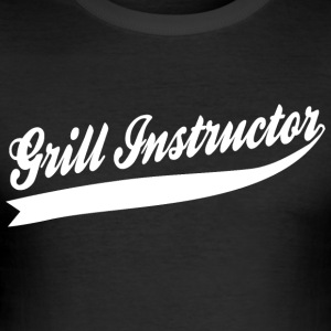 Grill Instructor - Slim Fit T-shirt herr