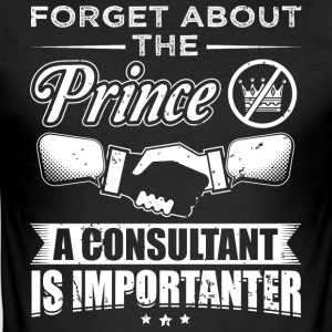consultant FORGET conseil PRINCE - Tee shirt près du corps Homme