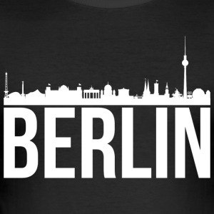 skyline Berlin - Herre Slim Fit T-Shirt