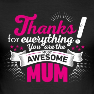 Mothering Day! Moederdag! Moederdag! - slim fit T-shirt