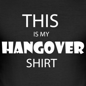 HANGOVER - Männer Slim Fit T-Shirt