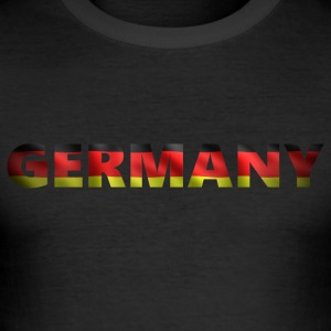 Duitsland 2 (2541) - slim fit T-shirt