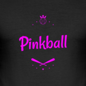 Pink ball - Men's Slim Fit T-Shirt