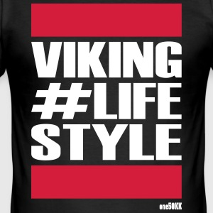 VIKING LIFE STYLE - Männer Slim Fit T-Shirt