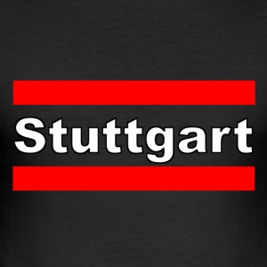 Stuttgart merken - slim fit T-shirt