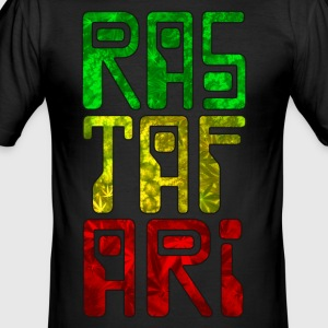 rastafari - Herre Slim Fit T-Shirt