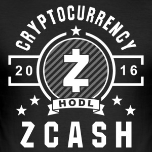 ZCash Retro Hvit - Slim Fit T-skjorte for menn
