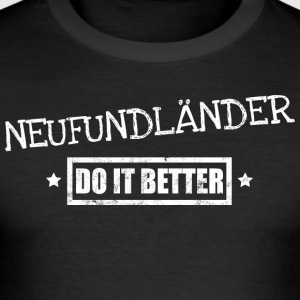 Newfoundland - Slim Fit T-skjorte for menn