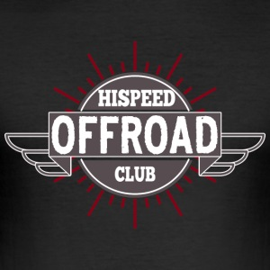 Offroad HiSpeedClub - Slim Fit T-skjorte for menn