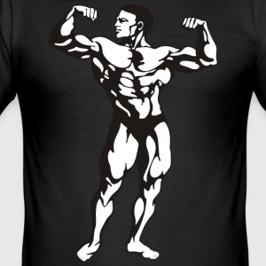 Oldschool Bodybuilding GOLIATH WEAR - Slim Fit T-skjorte for menn