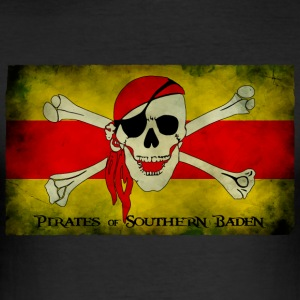 Pirates of Southern Baden - Männer Slim Fit T-Shirt