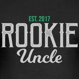 New onkel onkel rookie gave - onkel - Slim Fit T-skjorte for menn