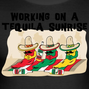 Tequila Sunrise - Men's Slim Fit T-Shirt