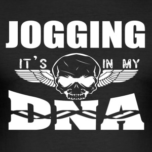 JOGGING - Es ist in meiner DNA - Männer Slim Fit T-Shirt