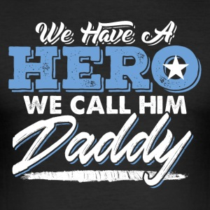 Daddy Hero - Herre Slim Fit T-Shirt