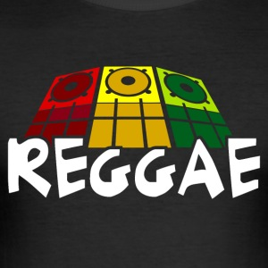050 - Reggae - Männer Slim Fit T-Shirt