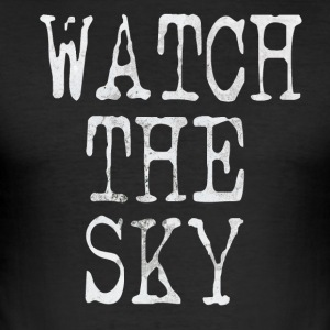 Watch the sky - Slim Fit T-shirt herr