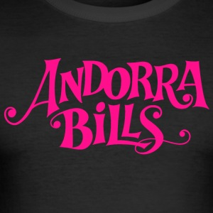 Andorra Bills (Band) - Slim Fit T-skjorte for menn