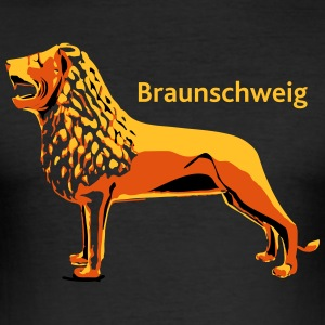 Brunswick Lion - slim fit T-shirt