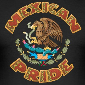mexicanske Pride - Herre Slim Fit T-Shirt