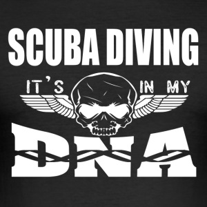 SCUBA DIVING - It's in my DNA - Men's Slim Fit T-Shirt