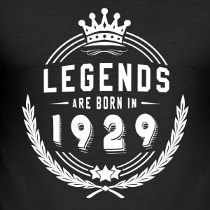 Legends zijn geboren in 1929! 01 - slim fit T-shirt