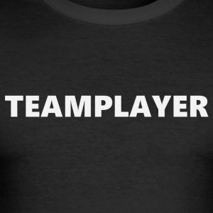 Teamplayer (2170) - Männer Slim Fit T-Shirt