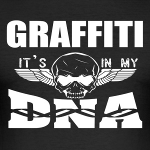 GRAFFITI - Het zit in mijn DNA - slim fit T-shirt