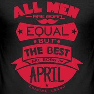 april men equal best born month logo