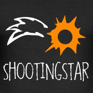 Shooting Star - Herre Slim Fit T-Shirt