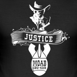 MOAB - Mother Of All Bombs - Shirt - Männer Slim Fit T-Shirt