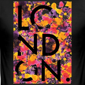 London kunst~~POS=TRUNC - Slim Fit T-skjorte for menn