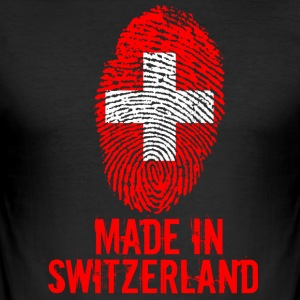 Made in Switzerland / Made in Switzerland Suisses - Slim Fit T-skjorte for menn