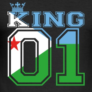 country partner king 01 prince Djibouti - Men's Slim Fit T-Shirt