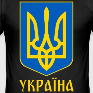 UKRAINA - Slim Fit T-shirt herr