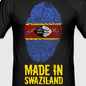 Made In Swaziland / Swaziland / Eswatini - Men's Slim Fit T-Shirt