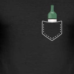 Wine Winery Wine Bottle Suff Bachelor Party - Men's Slim Fit T-Shirt