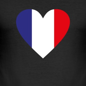 France - Men's Slim Fit T-Shirt