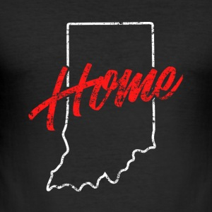 Indiana Home - Männer Slim Fit T-Shirt