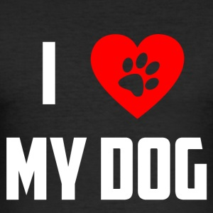 ilovedog - Slim Fit T-shirt herr
