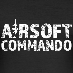 Airsoft Commando - Männer Slim Fit T-Shirt