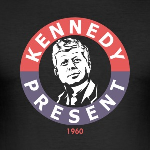 John F Kennedy For President - Slim Fit T-shirt herr