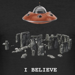 ibelieve - Männer Slim Fit T-Shirt